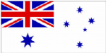 Australia Navy Ensign Large Flag - 5' x 3'.